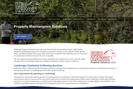 Property Maintenance website design